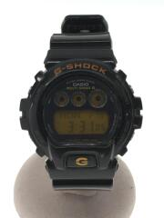 カシオ/G-SHOCK/ソーラー腕時計/デジタル/ブラック/GW-6900B/ベルト・風防に汚れ