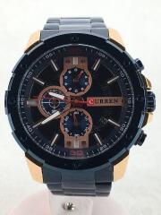 CURREN/カレン/クォーツ腕時計/アナログ/クロノグラフ/M8336