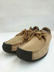 Wallabee Boot/ワラビー/チャッカブーツ/25.5cm/ブラウン/スウェード/中古/USED