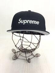 Supreme/シュプリーム/newera/ニューエラ/ブラック/20SS/メタリックボックスロゴ//ベースボールキャップ ボックスロゴ