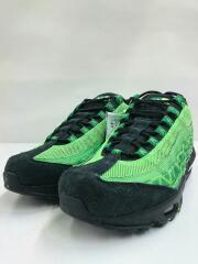 AIRMAX95/NAIJA/ローカットスニーカー/26cm/グリーン/PVC/靴/シューズ