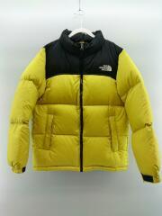 Nuptse Jacket/ヌプシジャケット/ダウン/150cm/キッズ/ナイロン/YLW/NDJ91863
