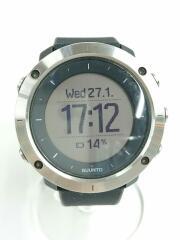 TRAVERSE/充電ケーブル付/箱有/腕時計/デジタル/ラバー/BLK/OW151