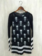 セーター(薄手)/FREE/モヘア/BLK