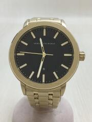箱付/ビーズブレスレットセット/クォーツ腕時計/アナログ/ステンレス/ゴールド/AX7108