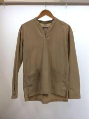 長袖Tシャツ/1/コットン/BEG