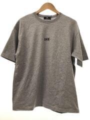 Tシャツ/S/コットン/グレー/HA020634SZ/HAREロゴカットソー/タグ付き/刺繍ロゴ/