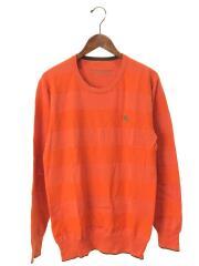 セーター(薄手)/3/コットン/ORN/D1N27-626-86/タグ刺繍/ワンポイント/刺繍