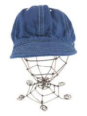 キャップ/--/コットン/BLU/ブルー/STANDARD KOME CAP
