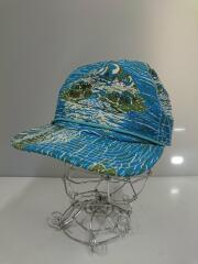 キャップ/コットン/ブルー/総柄/38100SP19/Pataloha Stand Up Hat