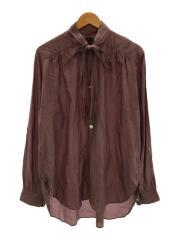 長袖シャツ/M/--/PUP/DI152/ascot collar edw gather shirt