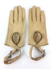 手袋/レザー/BEG/レディース/レザーグローブ/本革/スタンダード/ラグジュアリー/セカスト