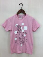 ON-T003/AD2014/Tシャツ/S/PNK/セカスト/×Disney FROZEN