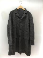 SOPH-189048/CHECK GOWN SHIRT FABRIC BY SOLOTEX/M/GRY/チェック