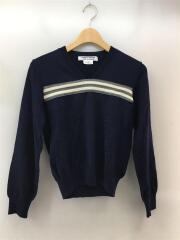 セーター(薄手)/SS/ウール/NVY/AD2006/RS-N006/ボーダー/ライン