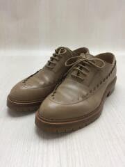 ドレスシューズ/Zapatos Richelieu Puzzle/37.5/BEG/レザー/セカスト
