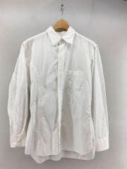 HO-B20-013/16ss/長袖シャツ/2/コットン/WHT/多重襟/アシンメトリー/環縫い