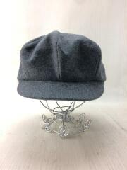 192832/ベレー帽/ウール/GRY/無地/キャスケット/帽子/セカスト