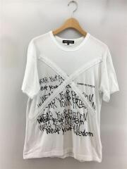 PE-T066/AD2015/Tシャツ/M/コットン/WHT/Wear Your Freedom/セカスト