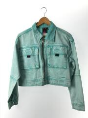 BLEACHED JACKET/20ss/Gジャン/1/デニム/BLU