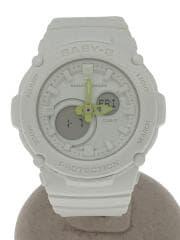 ×beautiful people/BGA-270BP/BABY-G/クォーツ腕時計/デジアナ
