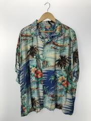 アロハシャツ/PALI Hawaiian Style/XL/--/ブルー/総柄
