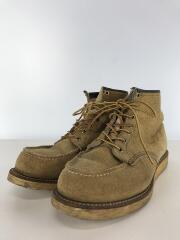 ブーツ/--/BEG/スウェード