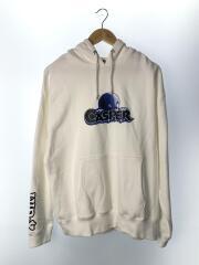 CASPER SWEAT HOODIE/105203012022/パーカー/L/コットン/WHT