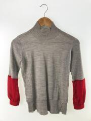セーター(薄手)/1/ウール/GRY/J1906