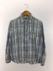 山ポケットワークシャツ/チェックシャツ/NEPENTHES/ネペンテス/長袖/中古/アメカジ/古着