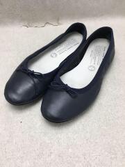 travelshoesbychausser/フラットパンプス/39/NVY/レザー/バレエシューズ/靴