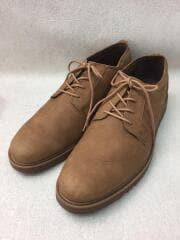 プレーントゥシューズ/ブラウン/スウェード/レザーシューズ/アウトドア/中古/外羽/革靴