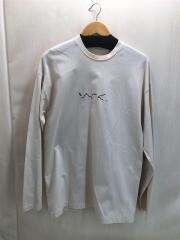 19AW/SCRIPT L/S T-SHIRT/刺繍ロゴ/ロンT/長袖Tシャツ/カットソー/インポート