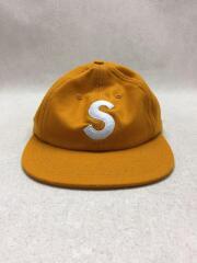 S LOGO WOOL SIX PANEL CAP/キャップ/--/ウール/YLW