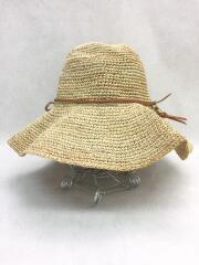 ストローハット/麦わら帽子/--/CRM