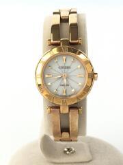 シチズン/クォーツ腕時計/アナログ/W.R.58AR/wicca/ピンクゴールド/中古