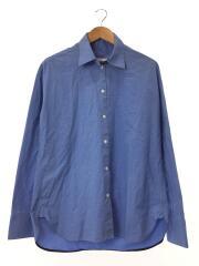長袖シャツ/38/コットン/BLU/C1516AWST04/ワイドスリーブシャツ
