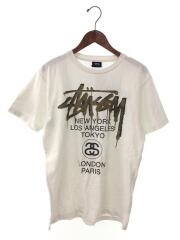 Tシャツ/S/コットン/ホワイト/無地