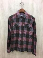 Fjord Flannel Shirt/フランネルシャツ/XS/コットン/レッド/チェック/54130