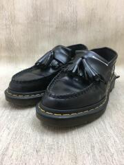 ADRIAN/エイドリアンタッセルローファー/UK4/ブラック/黒/WY004