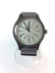 クォーツ腕時計/アナログウォッチ/グレー/灰色/ホワイト/白/CR2016 cell