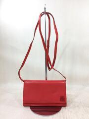 ショルダーバッグ/--/RED/アナグラム/肩掛けバッグ/財布バッグ/カード入れ