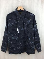 15SS/OILED COTTON FATIGUE JACKET/ミリタリージャケット/M/コットン/カモフラ