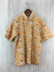 アロハシャツ/L/コットン/ORN