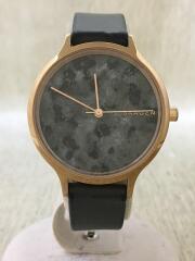 Anita/クォーツ腕時計/アナログ/レザー
