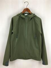 Runbold Trail SO Hooded Jacket/マウンテンパーカ/S/ポリエステル/KHK