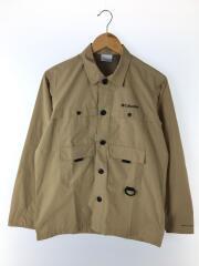 Hewson Park L/S Shirt/ヒューソンパークロングスリーブシャツ/S/ポリエステル/BEG