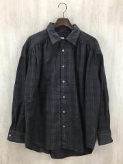 18AW/BEAUTY&YOUTH別注/Painter Shirt/長袖シャツ/M/ウール/BRW/チェック