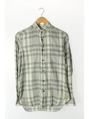 インディビジュアライズドシャツ/ペーパーチェスト/長袖シャツ/M/コットン/GRY/チェック
