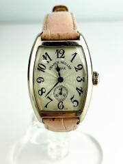 フランクミュラー/手巻腕時計/レザー/ピンク/1750S6/755/725/カサブランカ/18K/OG/CASABLANCA
